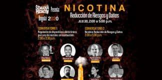 """Conversatorio internacional """"Nicotina: Reducción de Riesgos y Daños"""" en Bogotá"""