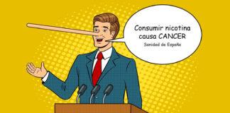 Consumir nicotina causa cáncer, afirma Sanidad de España